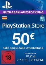 Official Play Station Network 50 EUR DE