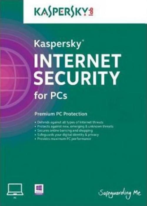 Kaspersky Internet Security 3 PC 1 YEAR EU