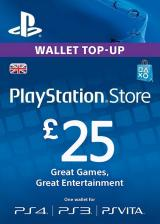 Official Play Station Network 25 GBP UK
