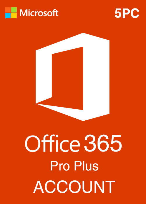Microsoft Office 365 Account Global 5 Devices