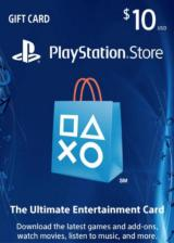 Official Play Station Network 10 USD