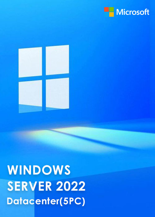 Windows Server 2022 Datacenter Key Global(5PC)