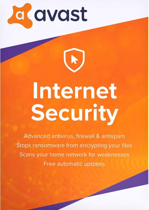 Avast Internet Security 1 PC 1 Year Key Global